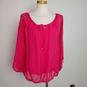 Alyx large pink top